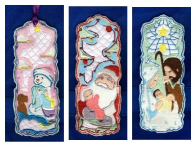 christmas bookmarkers designs