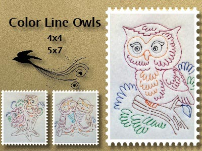 Colorline Owls