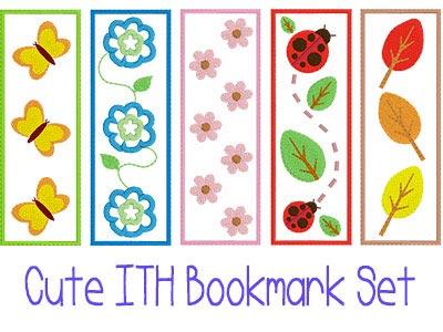 ffa308bc98b23 Bookmark Machine Embroidery Designs