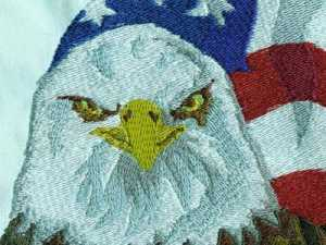 Eagles Embroidery Machine Design