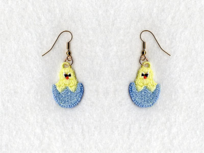 FSL Easter Earrings
