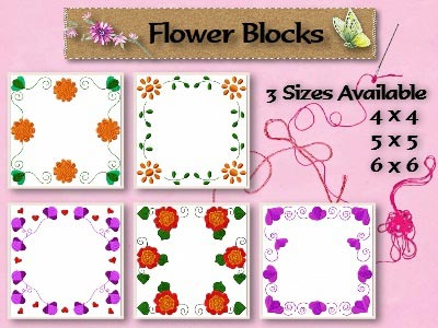 Flower Blocks Quilt