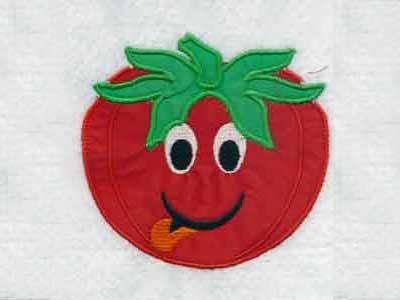 Applique Fruits and Veggies