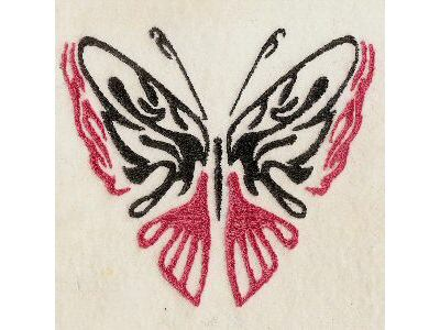 Galatic Butterflies Embroidery Machine Design