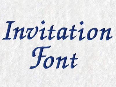 Machine embroidery designs invitation font set stopboris Images
