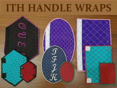 In The Hoop Quilted Handle Wraps