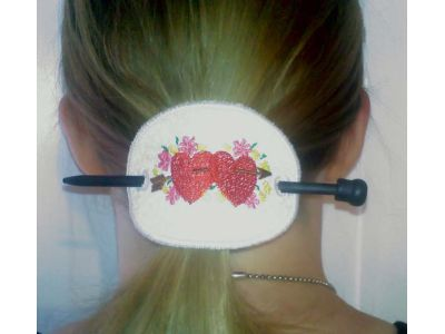 In The Hoop Pony Tail Covers Embroidery Machine Design
