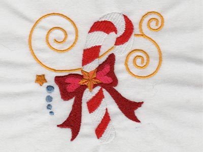 Jacobean Christmas 2 Embroidery Machine Design