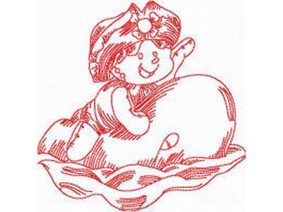 JN Rag Dolls Summer Embroidery Machine Design