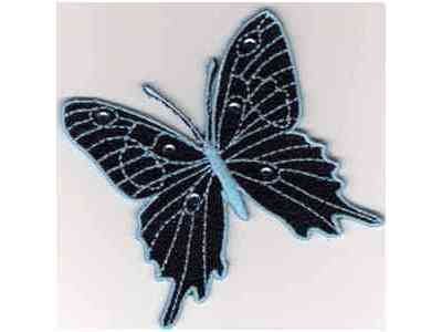 Lace Butterfly Embroidery Machine Design