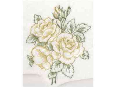 Open Work Florals Embroidery Machine Design