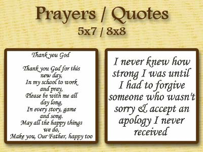Prayers and Quotes Embroidery Machine Design
