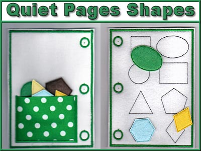 Quiet Pages Shapes