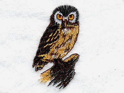 Realistic Wildlife Embroidery Machine Design