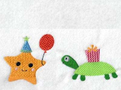 Sea Party Embroidery Machine Design