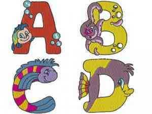 Sea World Alphabet