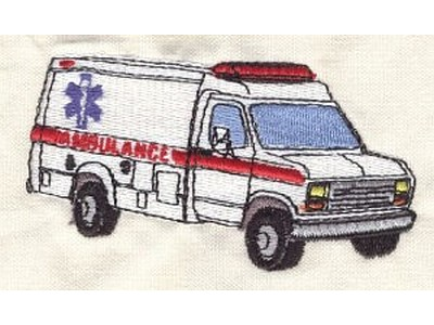 Service Vehicles Embroidery Machine Design