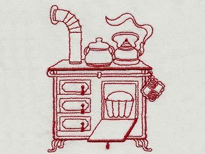 Machine Embroidery Designs Vintage Kitchen 1 Set
