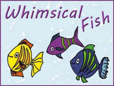 Whimsical Fish Embroidery Machine Design