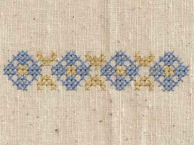 Machine Embroidery Designs Easter Cross Stitch Borders And Corners Set