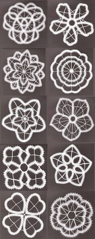 machine embroidery designs battenburg lace set