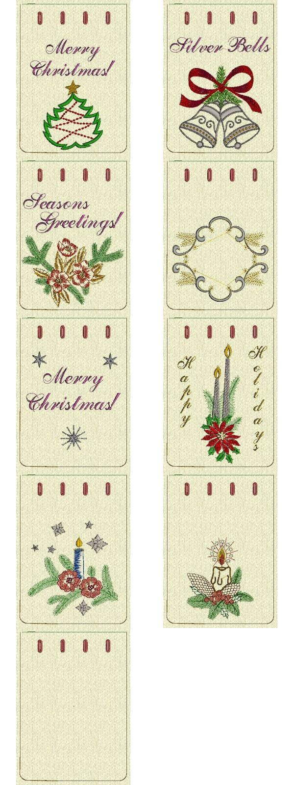 Machine Embroidery Christmas Gifts | Makaroka.com