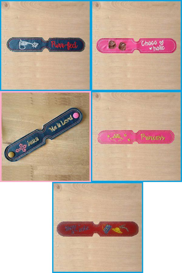 Key Fobs Embroidery Machine Design Details