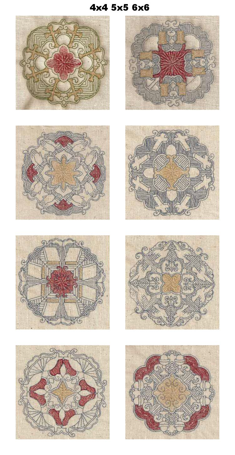 Embroidery Quilt Block Designs : Machine Embroidery Designs - Trapunto Religious Quilt Blocks Set